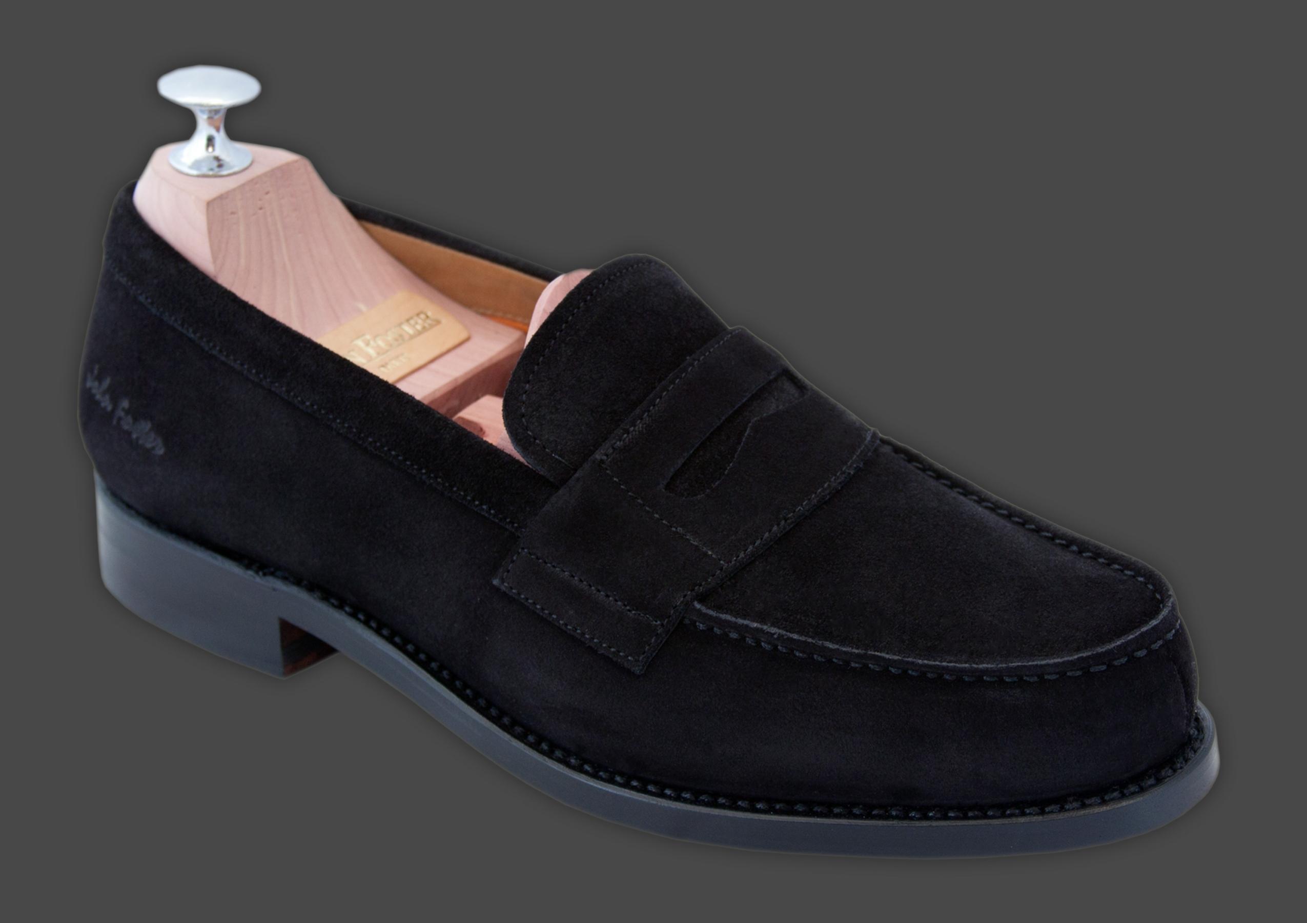 Harvard daim noir - Comment cirer des chaussures ...