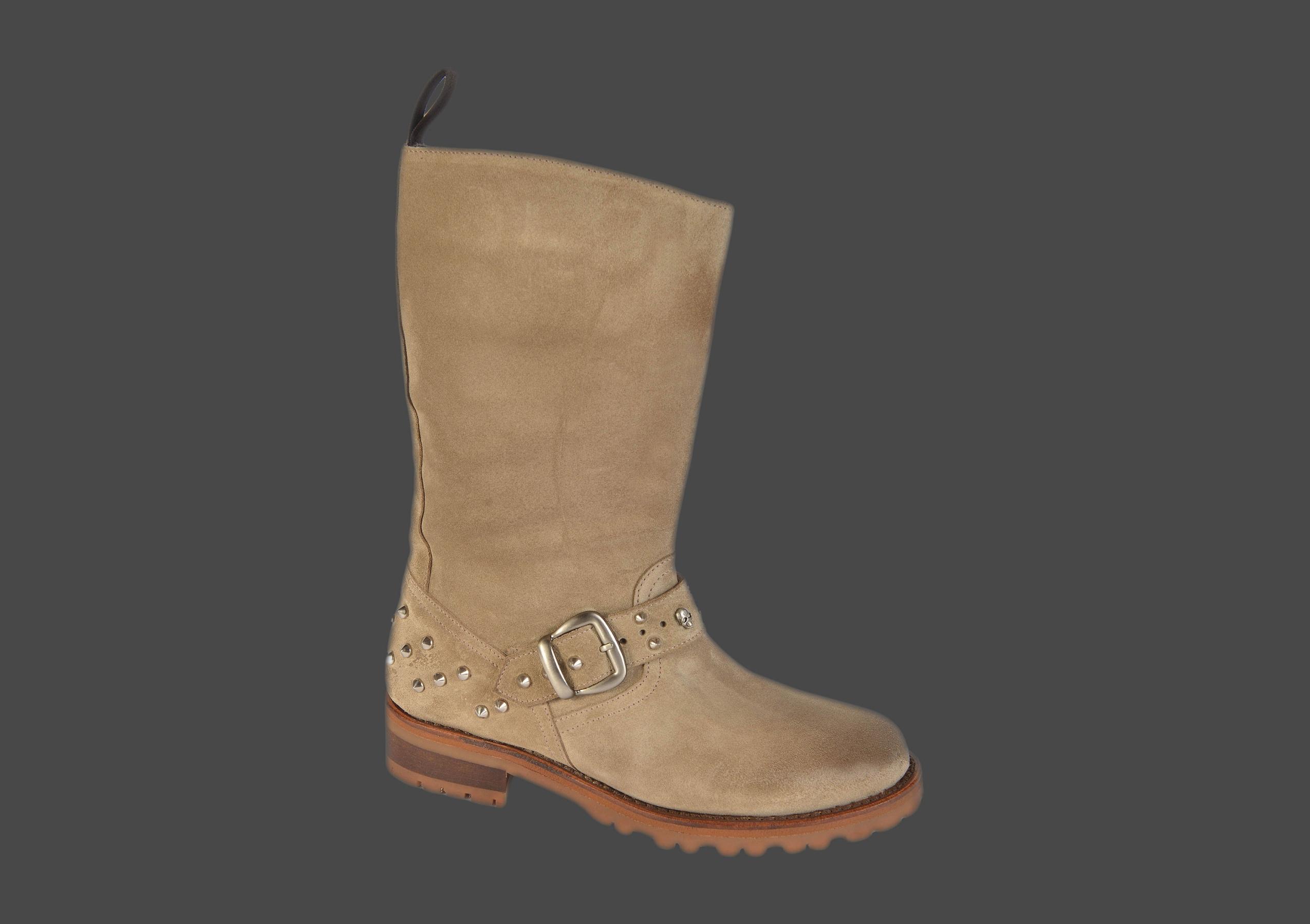 brooke rock femme daim beige < bottines rock femme < chaussures
