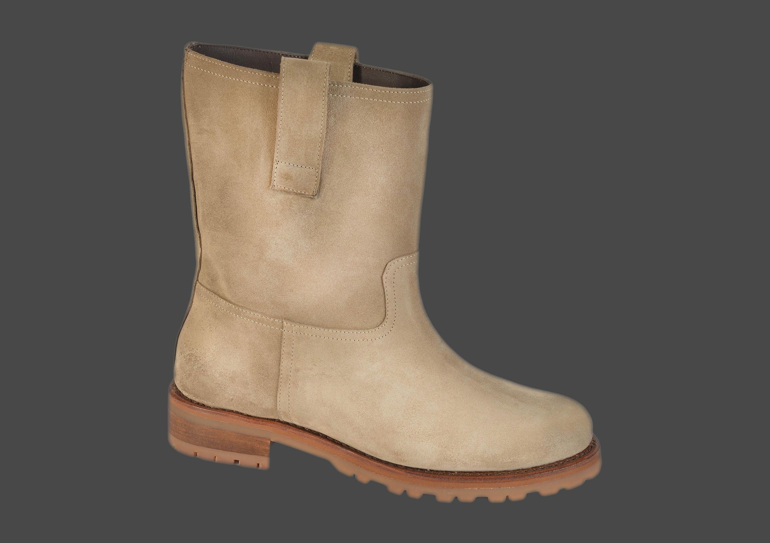 lina rock femme daim beige < rock boots f < shoes < our catalogue